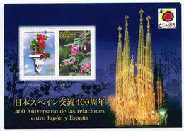 HOJA RECUERDO 2013 - 400 Aniversario Relaciones Japón Y España - Commemorative Panes
