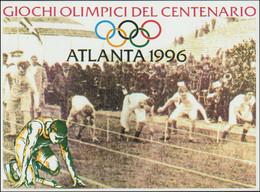 Italy Postcard 1996 Atlanta Olympic Games - Mint (G123-37) - Estate 1996: Atlanta