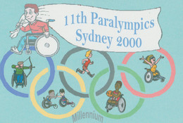 Great Britain Postcard 2000 Sydney Paralympics - Mint (G123-37) - Zomer 2000: Sydney - Paralympics