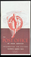 Great Britain Folder The Post Office At Your Service- Olympic Games 1948. Uncertain If It Is A New Print Or (LF17) - Zomer 1948: Londen