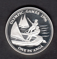 TONGA  OLYMPIC GAMES 1996  SILVER - Tonga