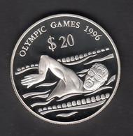 TUVALU  OLYMPIC GAMES 1996  SILVER - Tuvalu