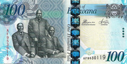 BOTSWANA 2012  100 Pula  - P.33c  Neuf - UNC - Botswana