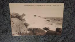 CPA -  732. LE CROISIC Coup De Mer Sur Les Récifs De La Grande Côte - Le Croisic