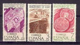 Spain 1976 - Bimill Lugo Ed 2356-58 (**) Mi 2249-2251 - 1971-80 Nuevos & Fijasellos