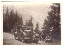 AUTOMOBILE  ANNEE 1920.30  EN MONTAGNE - Cars