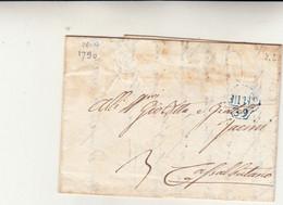 Milano Per Casalbuttano. Cover Con Contenuto 1790 - ...-1850 Voorfilatelie