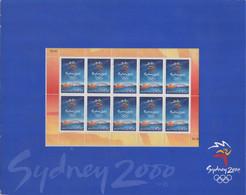 2000 Olimpiadi Sydney BF Di 10 Francobolli Dei Giochi Olimpici Australiani - Otros
