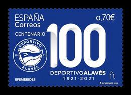 Spain 2021 Mih. 5504 Deportivo Alaves Football Club MNH ** - 2011-... Unused Stamps