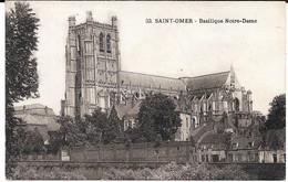 Cpa Saint-Omer / Basilique Notre - Dame . - Saint Omer