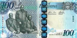 BOTSWANA 2009  100 Pula  - P.33a  Neuf - UNC - Botswana