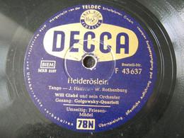 Decca -78 Rpm- - 78 G - Dischi Per Fonografi