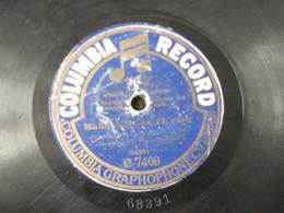 Columbia Record -78 Rpm- - 78 G - Dischi Per Fonografi