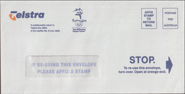 Australia Cover Marked Postage Paid From Telstra - Official Partner Of The 2000 Sydney Games (LF17) - Zomer 2000: Sydney