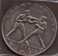 SAMOA 1 TALA 1974  COMMONWEALTH GAMES  BOXING  KM# 18 - Samoa