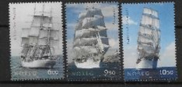 Norvège 2005 N°1484/1486 Neufs Navires Voiliers - Unused Stamps