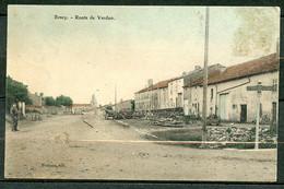 BENEY - ROUTE DE VERDUN - A DROITE PANNEAU INDICATEUR DE DIRECTION => PANNES / TOUL. - Other Municipalities