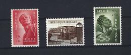 1954 Monument De Breendonk,  943/945.  Très Légère Trace Au Dos. Scan Recto/verso. - Unused Stamps