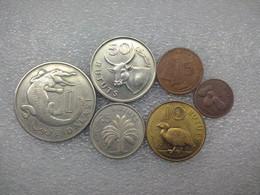 Gambia Set : 1 Butut - 1 Dalasi  , 1971 - Gambia