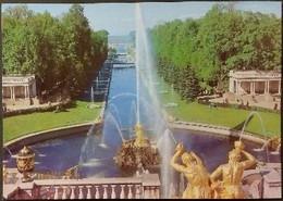 Ak Russland - Peterhof Bei Leningrad  - Park - Springbunnen - Russland