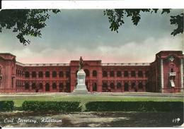 CIVIL SECRETARY - KHARTOUM - POSTALLY USED WITH FIELD POST OFFICE MARK 1955 - Sudan
