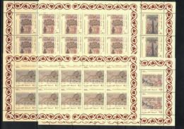 Palestine 1998 Historical Excavations Kleinbogen / Sheets Michel 82-85 Postfrisch / MNH - Palestina