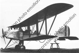 PHOTO AVION RETIRAGE REPRINT     Royal Aircraft Factory R - Aviation