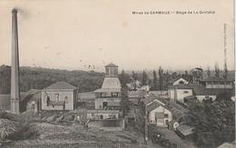 ***  81  ***  Mines De CARMAUX Siege De La Grillatié - Timbrée TTB - Carmaux