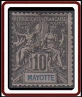 Mayotte - N° 05 (YT) N° 5 (AM) Neuf *. - Neufs