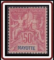 Mayotte - N° 11 (YT) N° 11 (AM) Neuf *. - Neufs
