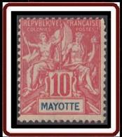 Mayotte - N° 15 (YT) N° 15 (AM) Neuf *. - Neufs