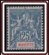 Mayotte - N° 17 (YT) N° 17 (AM) Neuf *. - Neufs