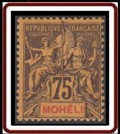 Mohéli - N° 13 (YT) N° 13 (AM) Neuf **. - Ungebraucht