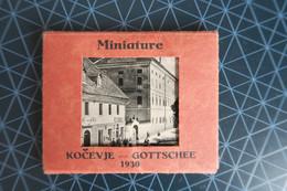 Kočevje - Gottschee 1930, Miniature, 11x, Odl. Ohranjene, Stadtmuhle, Vodni Mlin, Gostilna Harde, Gottscheertracht, Itd. - Slovenië