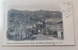 Strada Ferrata Pistoia Porretta: Sbocco Sud Galleria Dell'Appennino - Pistoia