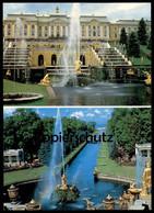 ÄLTERE POSTKARTE LENINGRAD PETERHOF Sankt Petersburg St. Peterburg Russia Russland Cpa Postcard AK - Russland