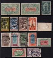 COLONIES FRANCAISES / PETIT ENSEMBLE DE TIMBRES OBLITERES / COTE 40.00 EUROS (ref 3521a) - Collections