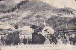 [74] Haute Savoie Cluses Fête Des Musiques 1909 Champ De Foire Plan Rechercher Pas Sur Delcampe - Cluses