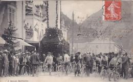 [74] Haute Savoie Cluses Fête Des Musiques 1909 Départ De La Course Plan Rechercher Pas Sur Delcampe - Cluses