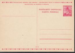 BÖHMEN UND MÄHREN  P 3, Ungebraucht, Lindenblätter 1939 - Briefe U. Dokumente