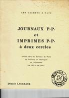 Biblio- Cachets à Date Journaux Et Imprimés Par LAVARACK - Filatelia E Storia Postale