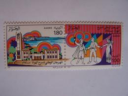 ALGERIE 1987 NEUFS 2 X FESTIVAL DU THEATRE AMATEUR DE MOSTAGANEM - Algeria (1962-...)
