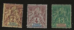 Sainte Marie De Madagascar YT 2/4 Oblit - Used Stamps