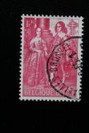 1964,BELGIQUE Y&T NO 1308 1.40F ROSE- CARMINE AU PROFIT DES OEUVRES ANTITUBERCULEUSES OBLITERE ... - Oblitérés