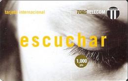 TORC : SPA005 1000pta TORC ESCUCHAR DUMMY/SPECIMEN Exp: 05/2000 - Otros