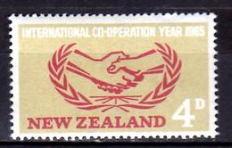 1965 New Zealand International Cooperation Year Joint Issues MNH** MiNr. 444 - Ongebruikt