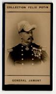 Collection Felix Potin - 1898 - REAL PHOTO - Général Jamont - Félix Potin