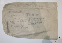 Franchise Militaire - Secteur Postal 615 - Sac En Recommandée - Curiosité - Autres