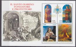 2000San Marino1921-1924/HB71700 Years Of The Republic Of San Marino - Ungebraucht