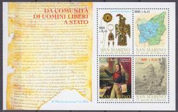 2000San Marino1913-1916/HB91700 Years Of The Republic Of San Marino - Ungebraucht